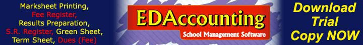 EDA - School Accounting Software