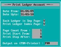 Printing Parameter