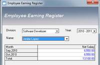 Employee Yearly Earning